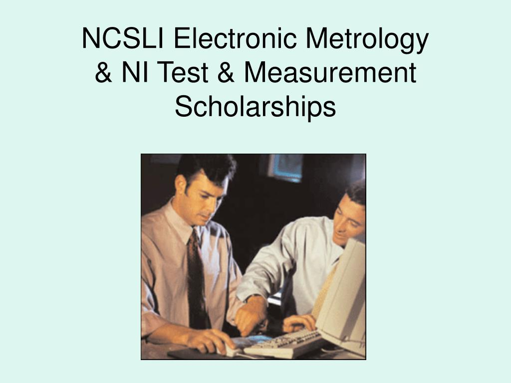 NCSLI Electronic Metrology