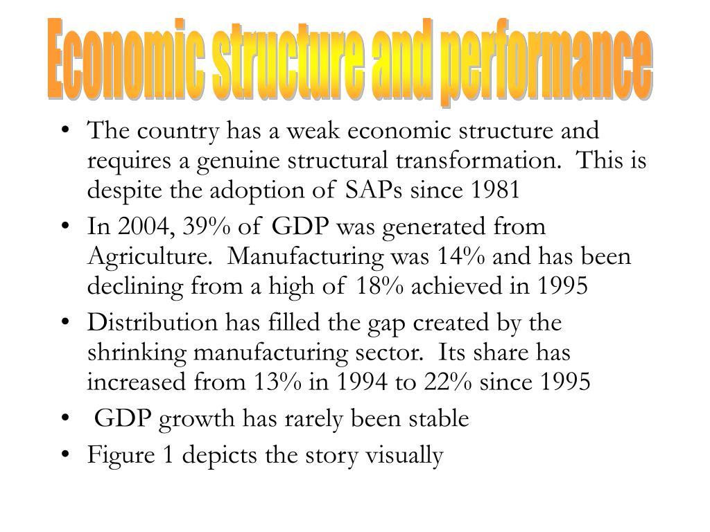 Economic structure and performance