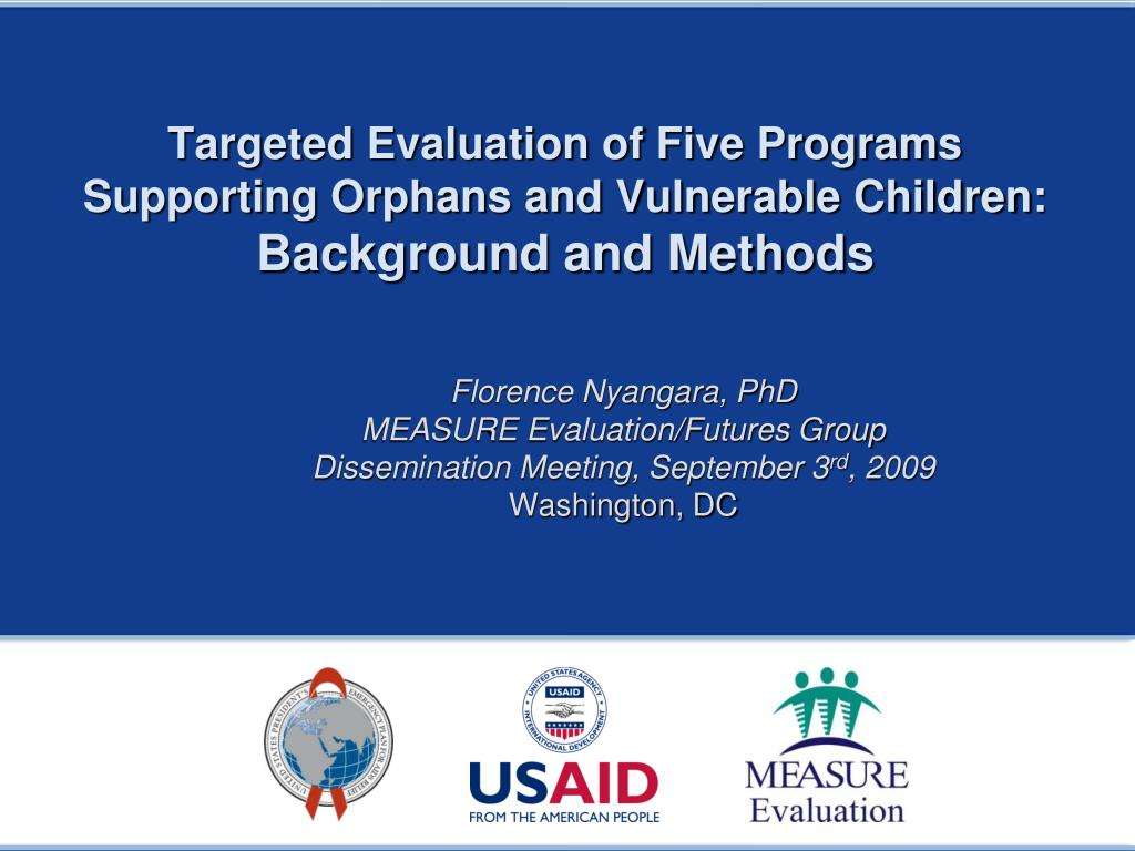 Targeted Evaluation of Five Programs