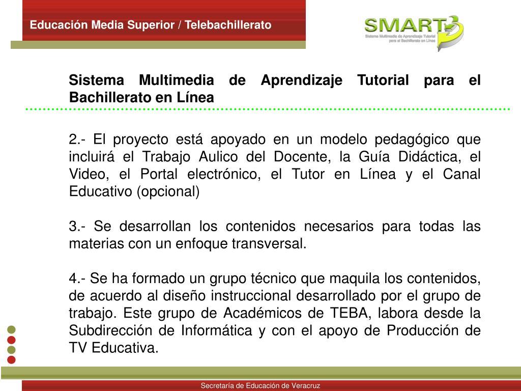 Educación Media Superior / Telebachillerato
