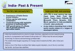india past present