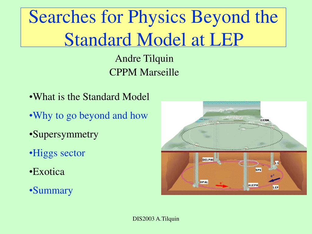 searches for physics beyond the standard model at lep l.