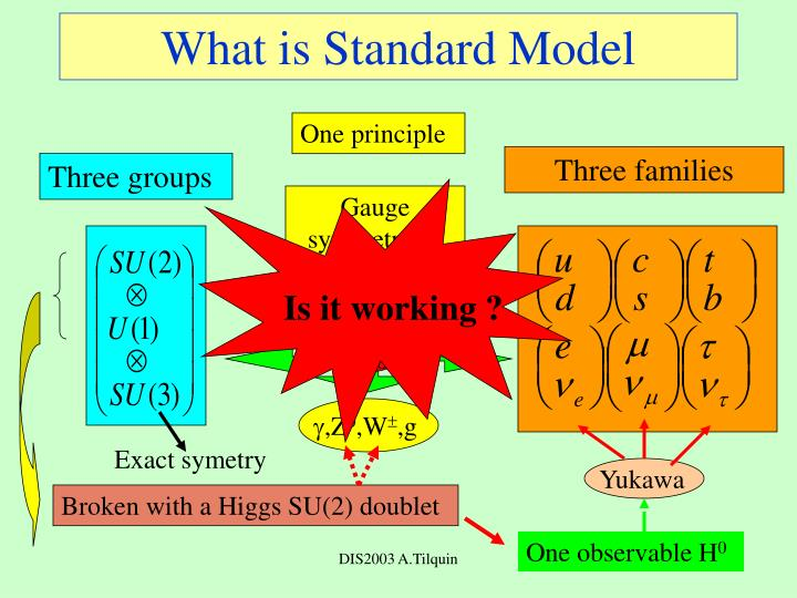 What is standard model
