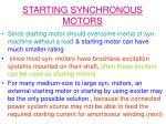 starting synchronous motors5