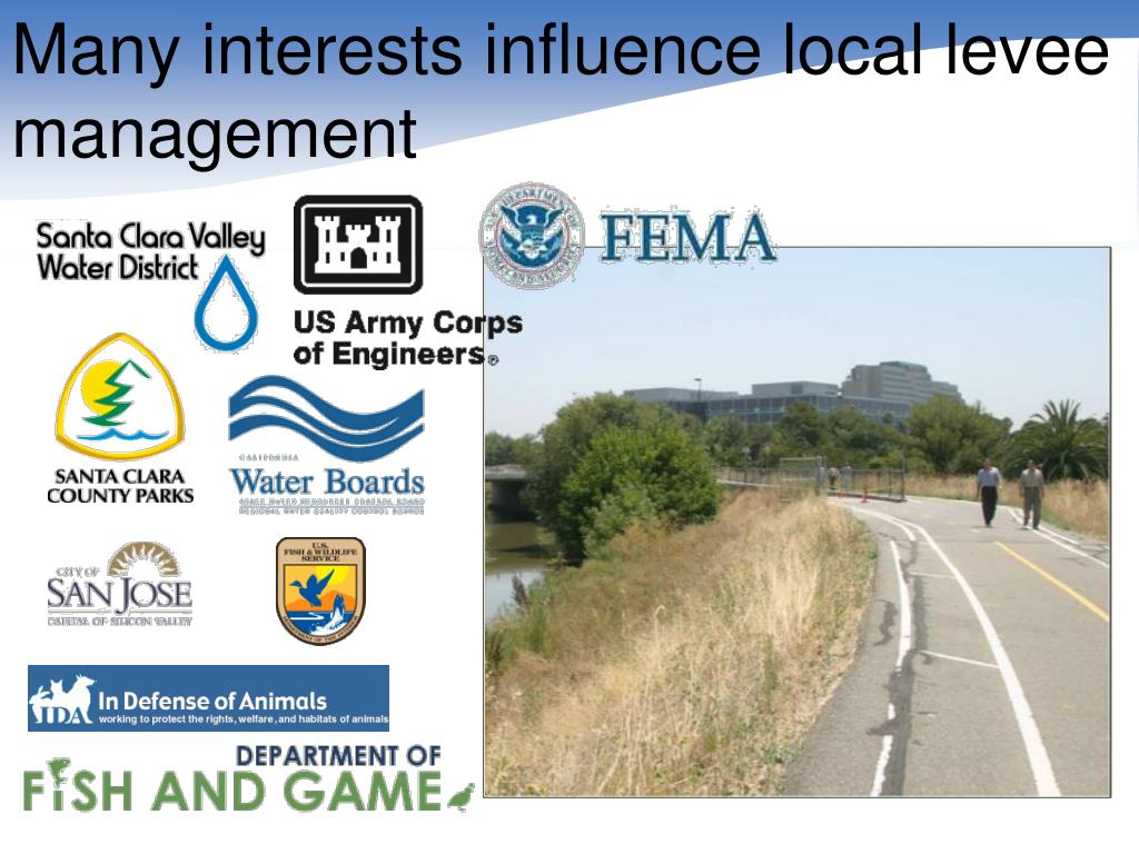 Many interests influence local levee management