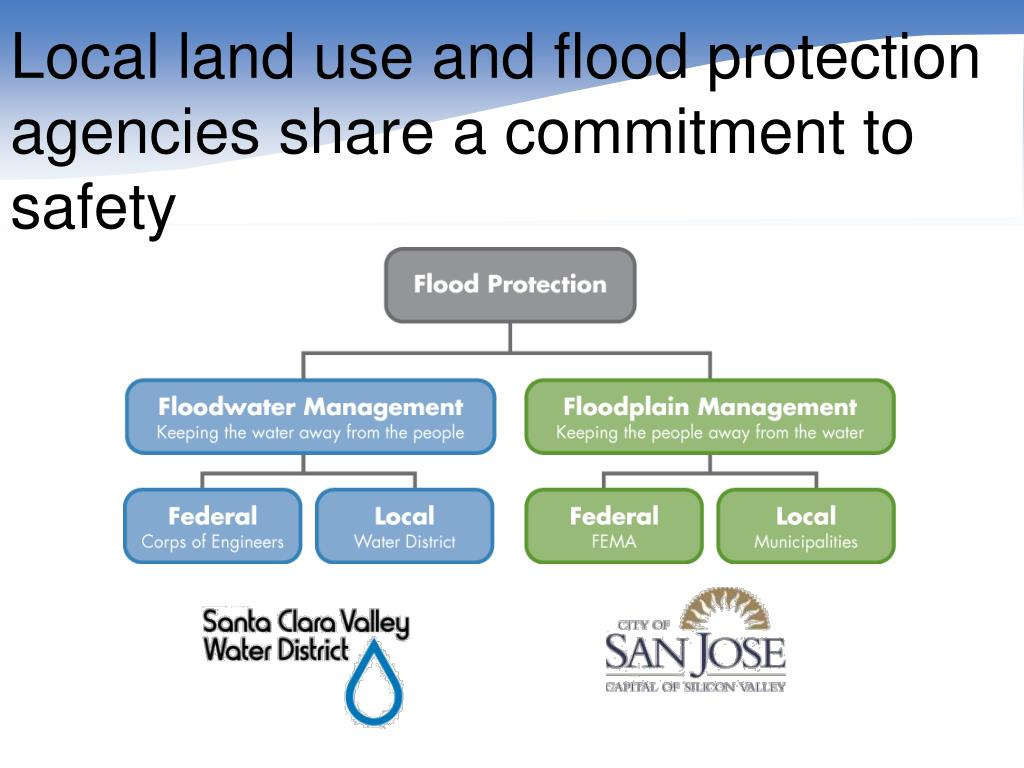Local land use and flood protection agencies share a commitment to safety