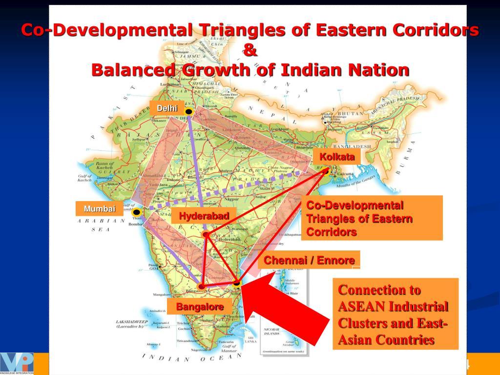 Co-Developmental Triangles of Eastern Corridors