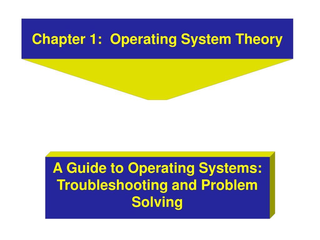 chapter 1 operating system theory l.
