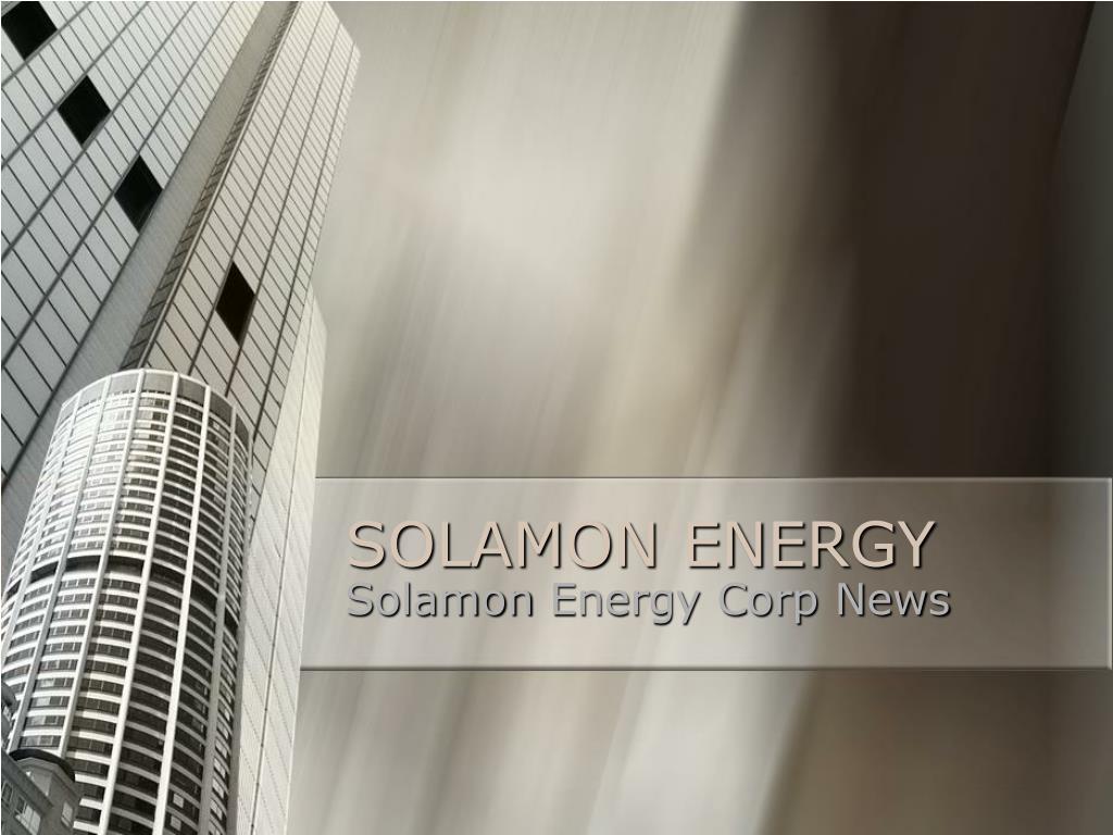 solamon energy