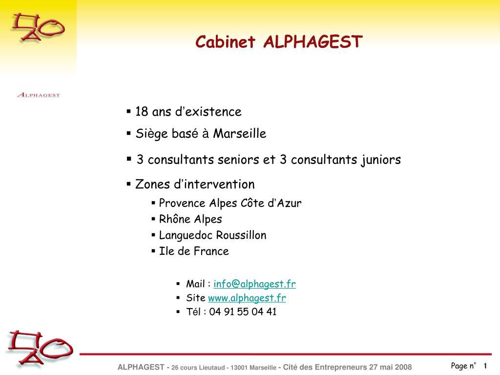 cabinet alphagest l.