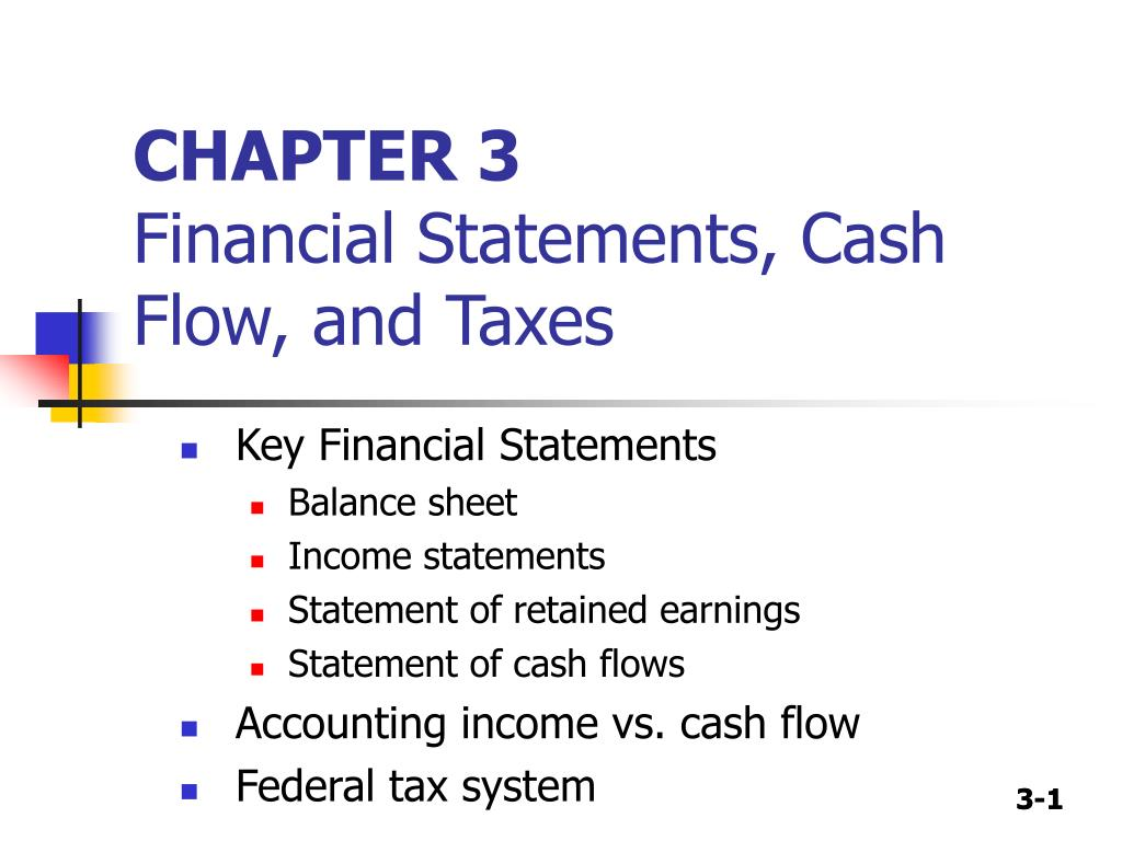 financial statements cash flow and taxes Learn how to create a cash flow statement, an essential financial statement that tracks where and when money enters and exists a business.
