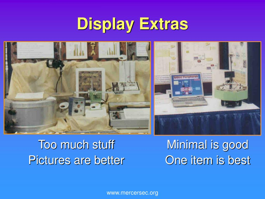 Display Extras