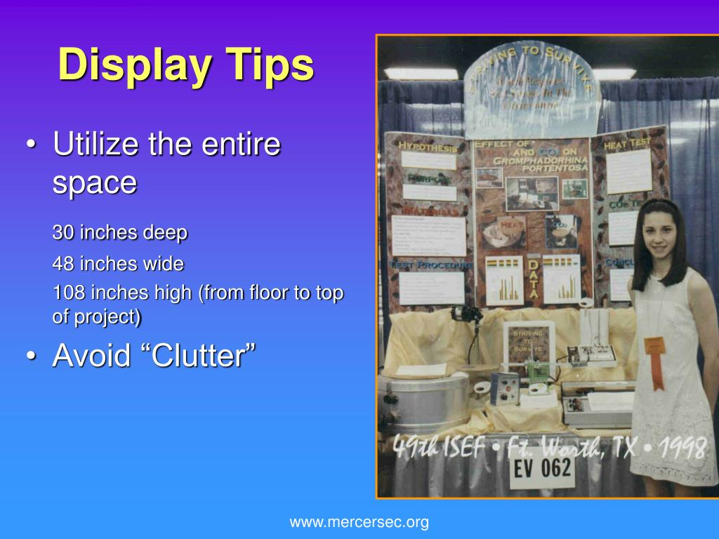 Display Tips