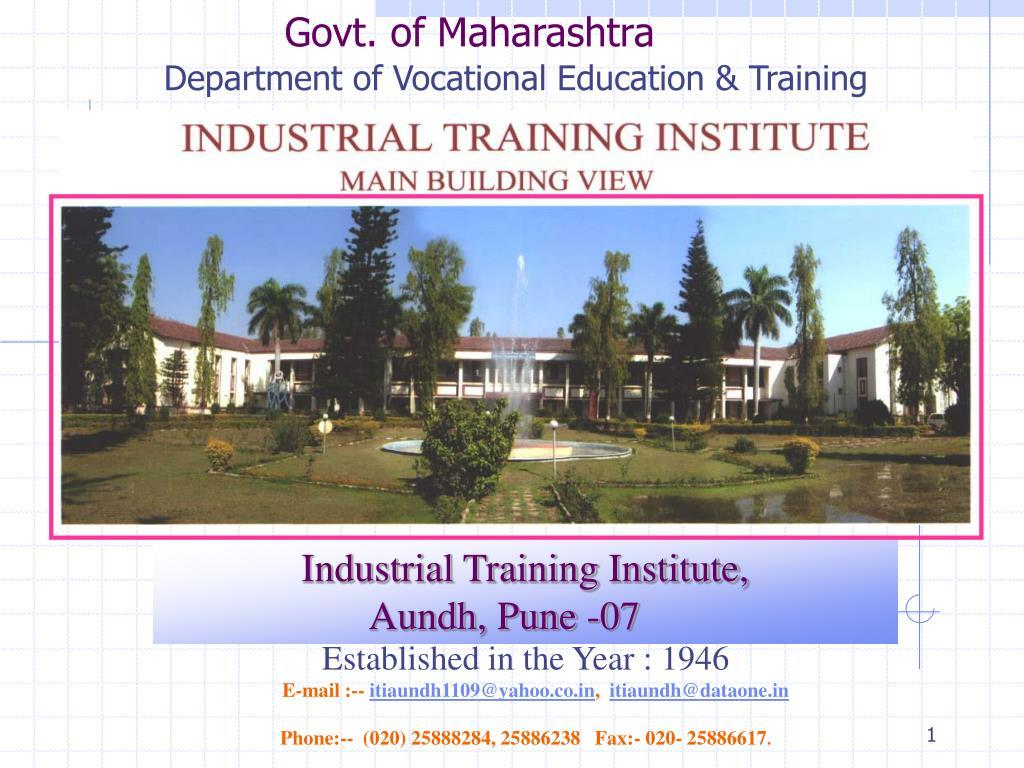 govt of maharashtra l.