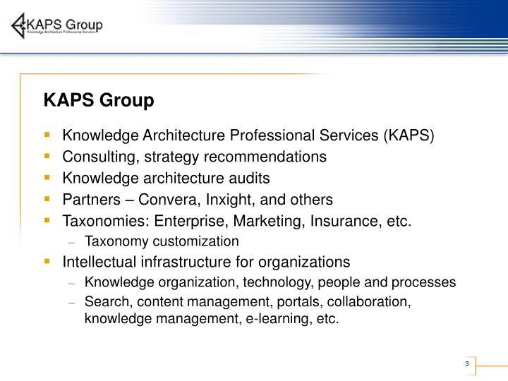 Kaps group