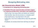 designing motivating jobs27