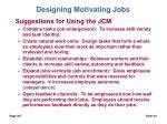 designing motivating jobs30