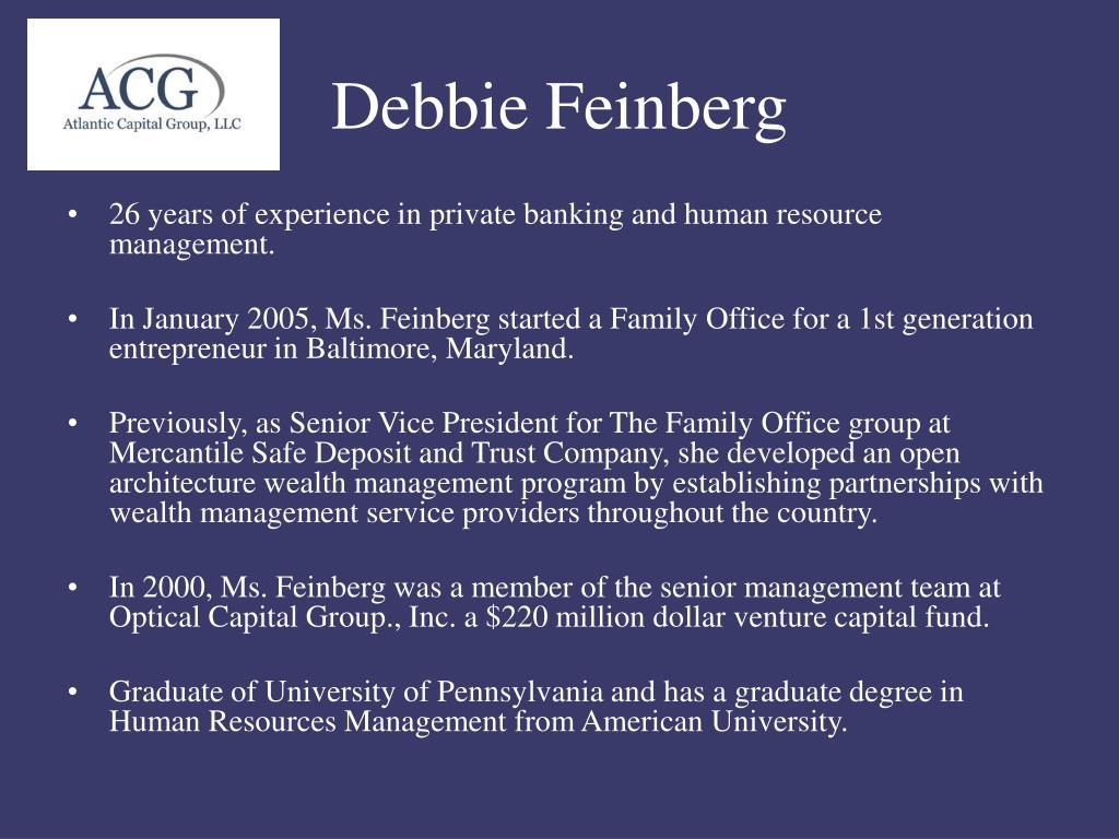 Debbie Feinberg