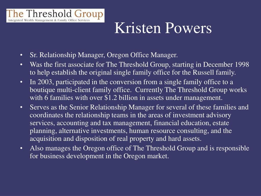 Kristen Powers