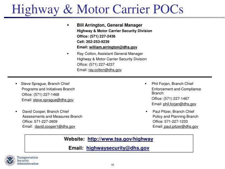 Ppt Highway Motor Carrier Division Presented To