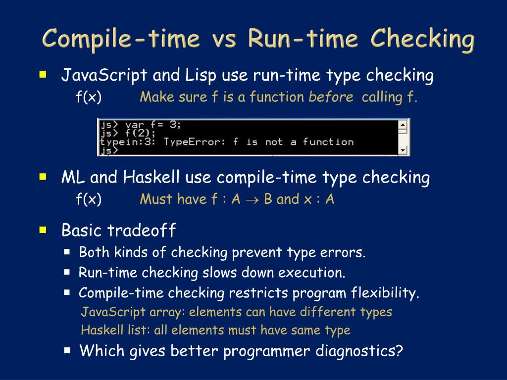 Compile-time