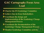 gac cartography focus area lead