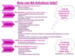 how can ba solutions help