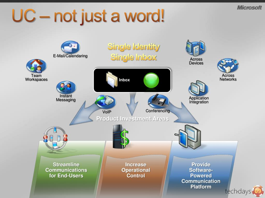 UC – not just a word!