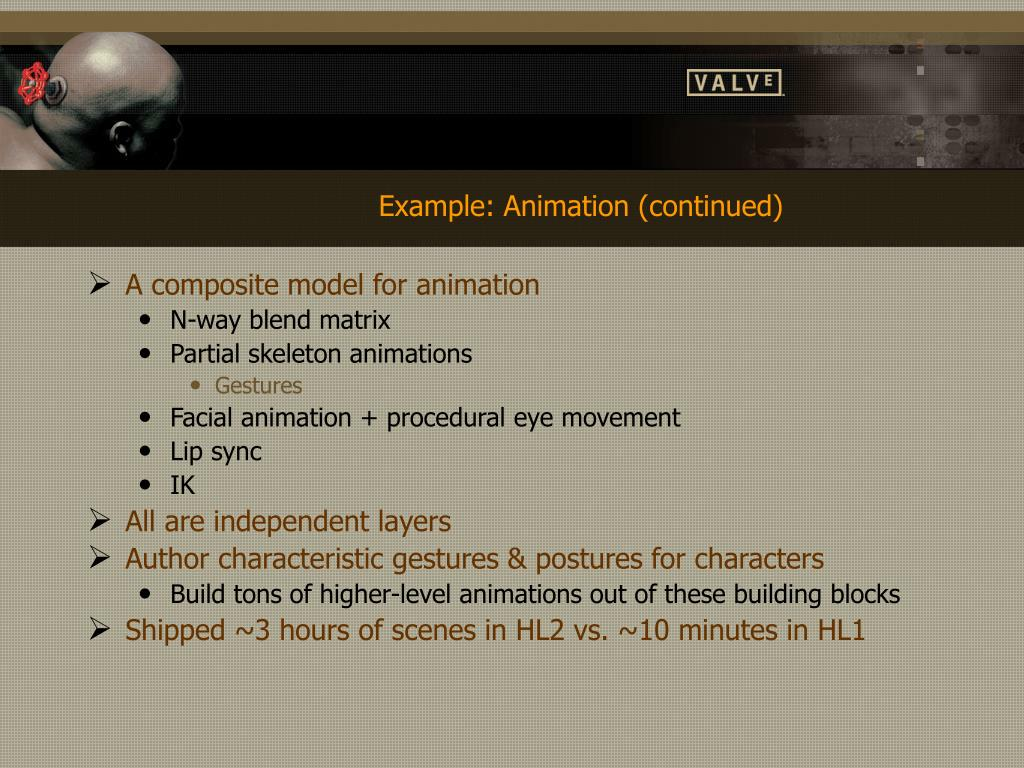 Example: Animation (continued)