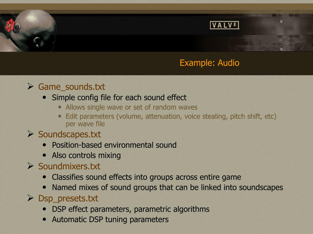 Example: Audio