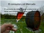 el consumo y el mercado
