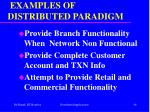examples of distributed paradigm46