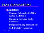flat transactions