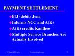 payment settlement32