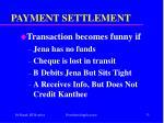 payment settlement33