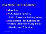 payment settlement34