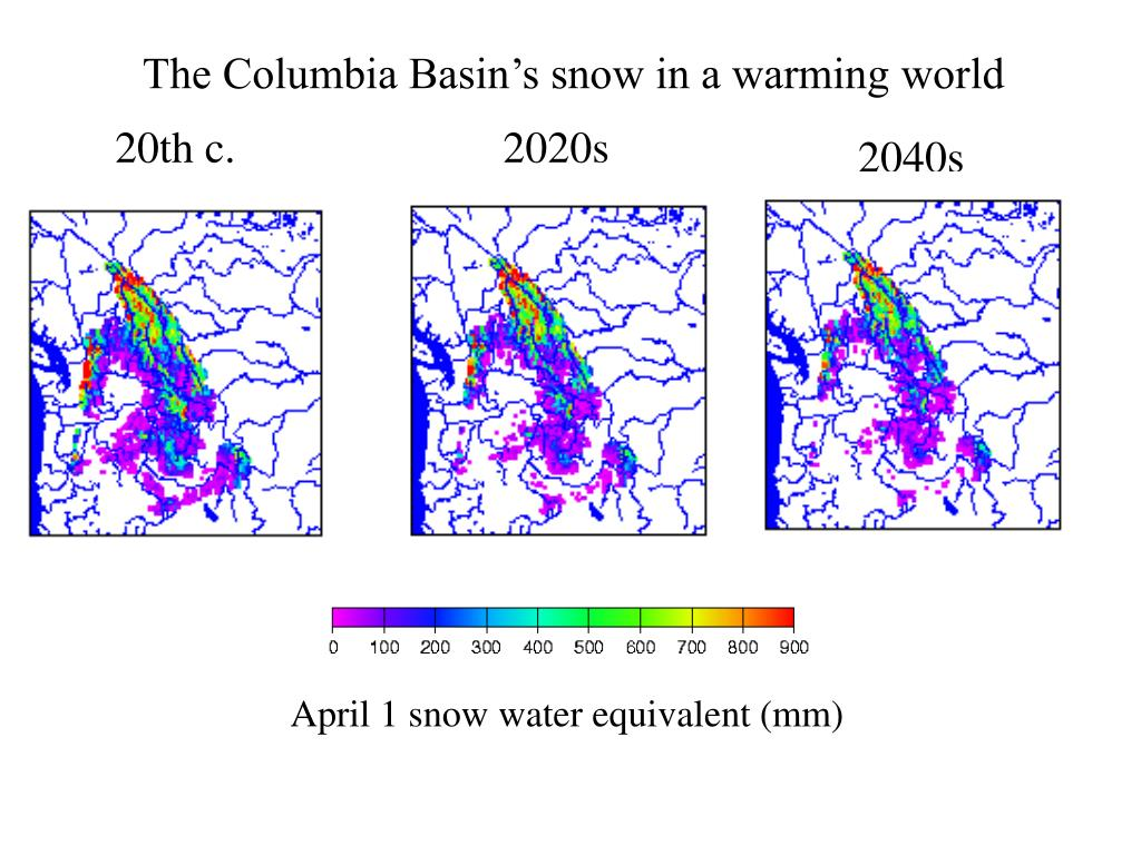 The Columbia Basin's snow in a warming world