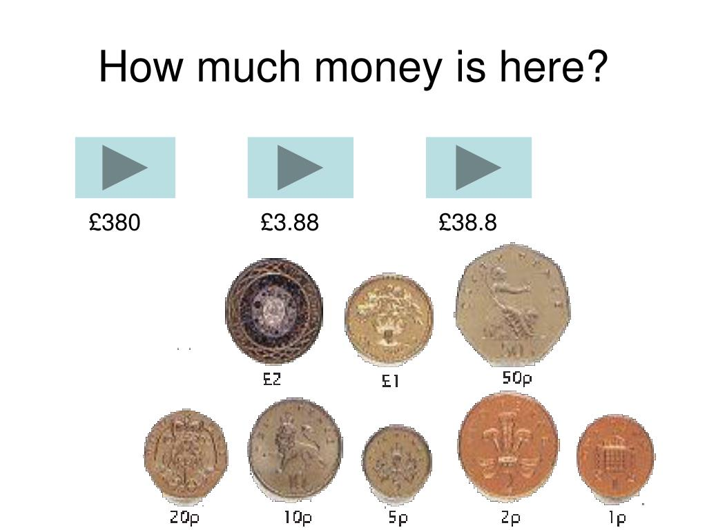 How much money is here?
