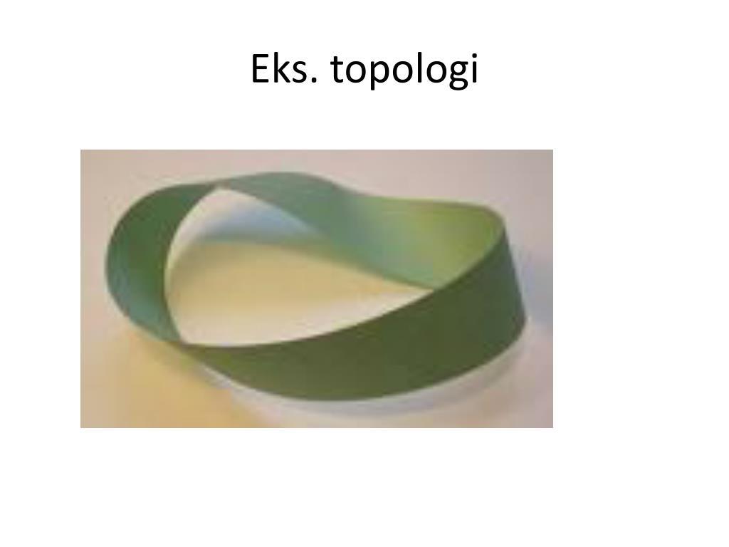 Eks. topologi