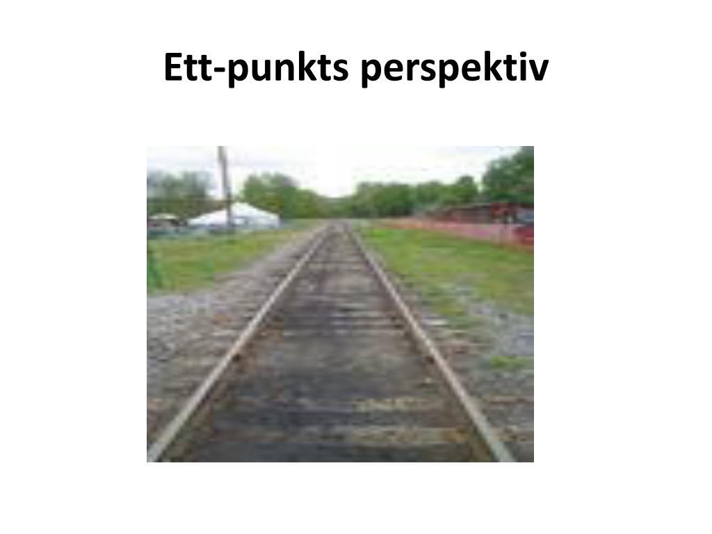 Ett-punkts perspektiv