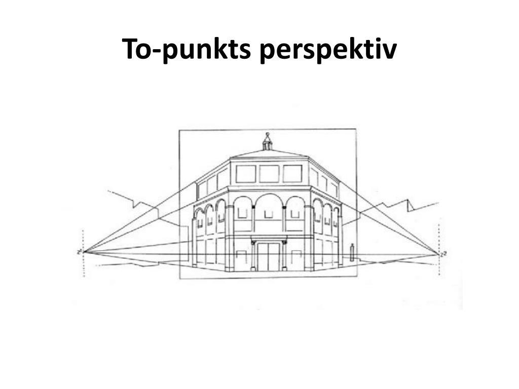 To-punkts perspektiv