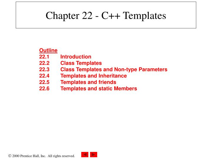 chapter 22 c templates n.