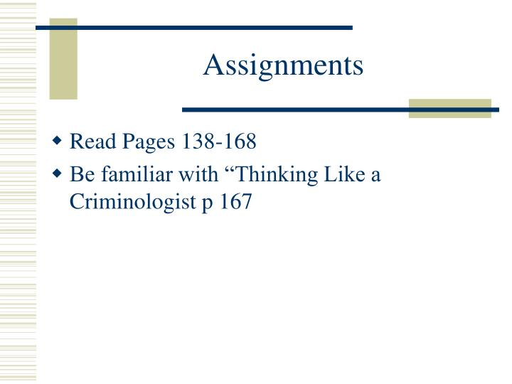 assignments n.