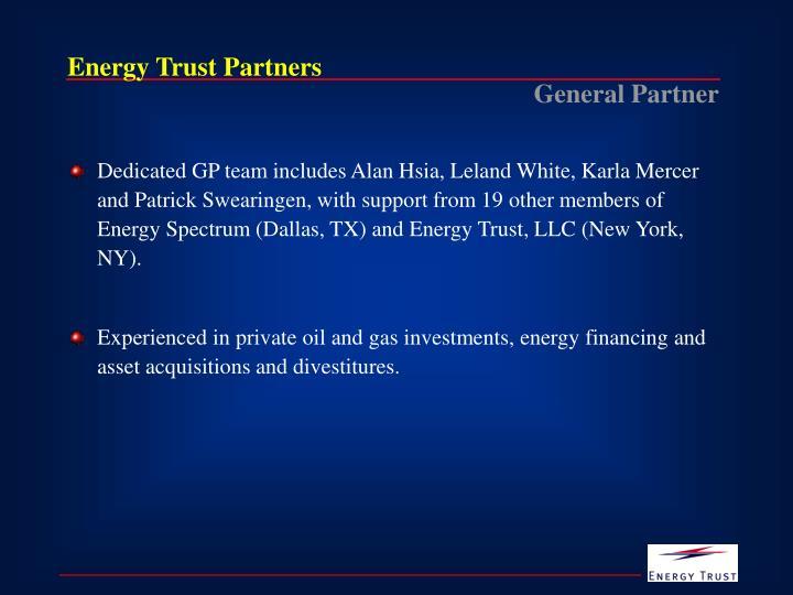 Energy Trust Partners