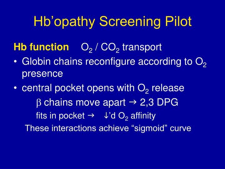 Hb opathy screening pilot2