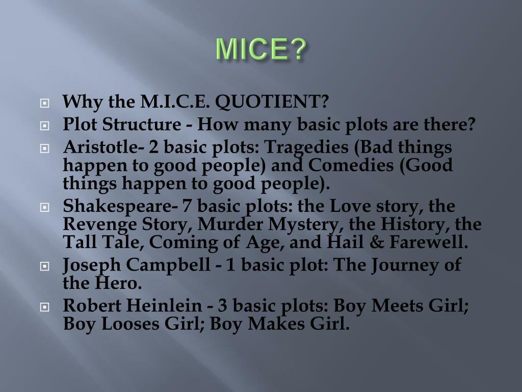 MICE?