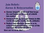 jain beliefs karma reincarnation