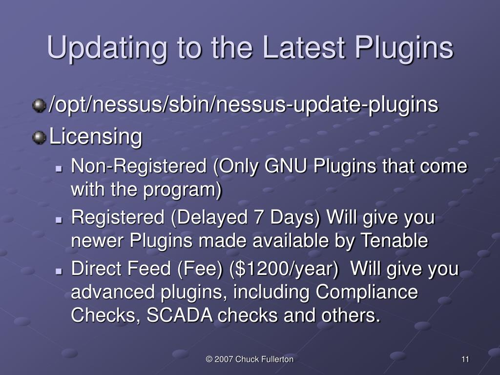 Updating to the Latest Plugins