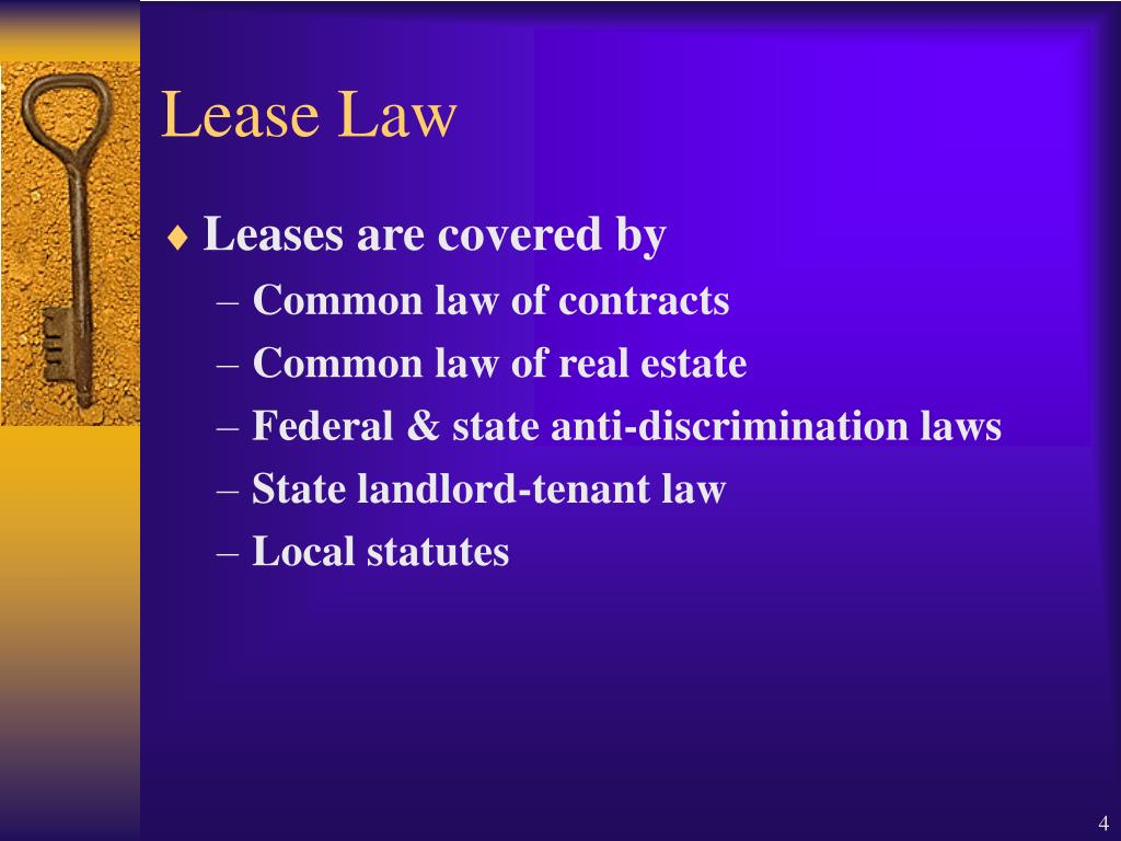 Lease Law