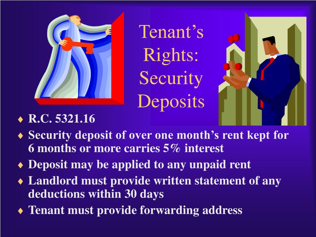 Tenant's Rights: Security